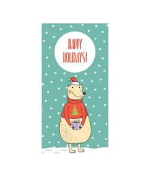 Конверт для денег Kinza Happy Holidays KV002, 4820203762293