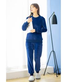 Костюм утепленный женский 2 в 1 Фантазия, синий Berni Fashion JIAY