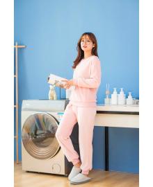 Костюм утепленный женский 2 в 1 Фантазия, розовый Berni Fashion JIAY