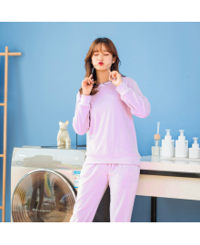 Костюм утепленный женский 2 в 1 Фантазия, фиолетовый Berni Fashion JIAY