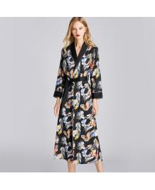 Халат домашний женский Butterfly and feathers Berni Fashion TZYA-1190