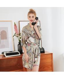 Халат домашний женский Аист и сакура Berni Fashion TZYA-1053