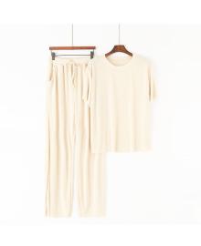Комплект домашний женский 2 в 1 Style, молочный Berni Fashion MYAH-A29899