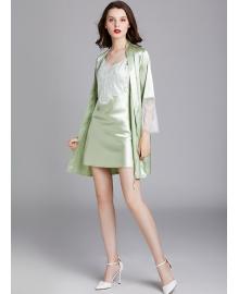 Комплект домашний женский 2 в 1 Mirage, зеленый Berni Fashion TZYA-WP1638