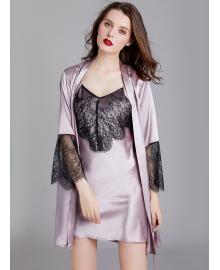 Комплект домашний женский 2 в 1 Mirage, фиолетовый Berni Fashion TZYA-WP1638
