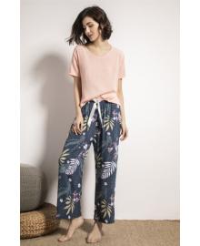 Комплект домашний женский 2 в 1 Light colors Berni Fashion DIYAQ