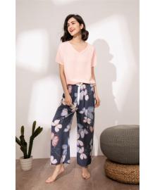 Комплект женский домашний 2 в 1 Butterflies Berni Fashion DIYAQ