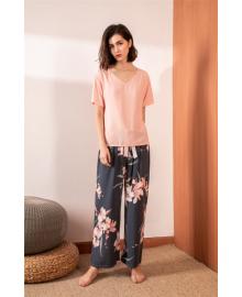 Комплект женский домашний 2 в 1 Phalaenopsis Berni Fashion DIYAQ
