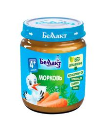Пюре Беллакт Морковь 100 г
