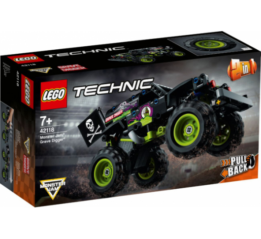 Конструктор LEGO Monster Jam Grave Digger (42118), 5702016890815