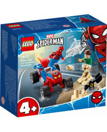 Конструктор LEGO Схватка ЧеловекаПаука и Песчаного Человека (76172), 5702016912777