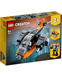 Конструктор LEGO Кибердрон (31111), 5702016889208