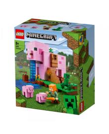 Конструктор Lego Minecraft Дом-Свинья (21170)