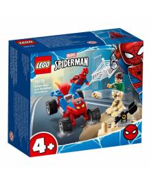 Конструктор Lego Super Heroes Схватка Человека-Паука И Песчаной Человека (76172), 5702016912777