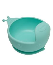 Силиконовая тарелка KinderenOK Blue