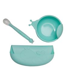 Набор силиконовой посуды KinderenOK Blue