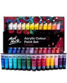 Акриловые краски. Набор качественных  акриловых красок для рисования Mont Marte 48 шт х 36 мл 1172