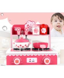Подарок для детей деревянная игрушка детская игровая кухня