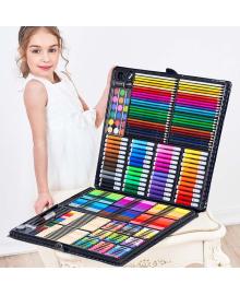 Набір для малювання на 258 предметів! Великий художній набір для малювання в валізці Colorful Italy ART 1244