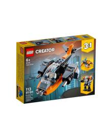 Кібердрон LEGO 31111, 5702016889208