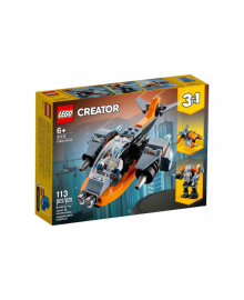Конструктор LEGO Кібердрон (31111), 5702016889208