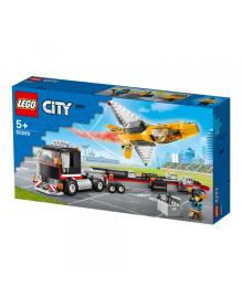 Конструктор Lego City Транспортер Каскадёрского Самолета (60289)