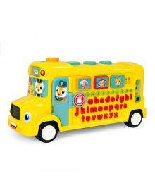 Игрушка развивающая Музыкальный автобус 3126
