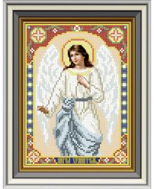 Набор для вышивки бисером Княгиня Ольга Икона Ангел Хранитель. ЛК-033ч