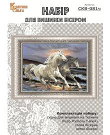 Набор для вышивки бисером Княгиня Ольга Галопом по волнам СКВ-081ч