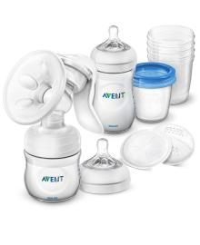 Avent Ручной молокоотсос Natural, с набором для хранения SCD221/00 Philips Avent ERC-SCD221/00