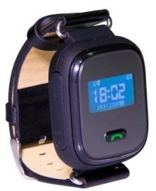 GoGPSme телефон-часы с GPS трекером K10[K10BK] ERC-K10BK