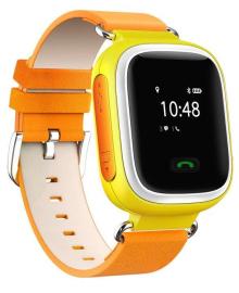 GoGPSme телефон-часы с GPS трекером K10[K10YL] ERC-K10YL