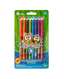 Ароматизированные гелевые ручки Kangaru Scentimals 8 шт