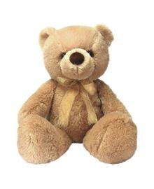 Мягкая игрушка Aurora Медведь бежевый, 46 см