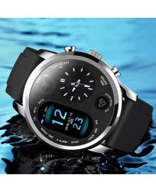 Cмарт часы мужские наручные умные часы T3 Pro black