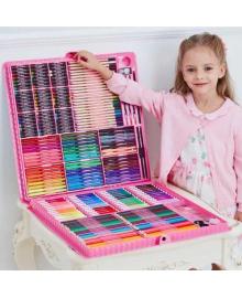 ВИДЕООБЗОР! 288 предметов!!! Самый большой художественный  набор для рисования и творчества Colorful Italy ART 121
