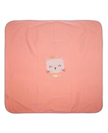 Пеленка-простынка Фламинго Meow Rose 90х85