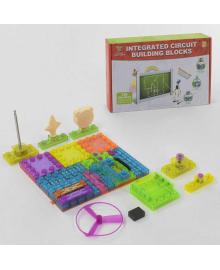 """Конструктор электронный YS 2962 (24) """"В мире электроники"""", 45 деталей, 120 схем, в коробке"""