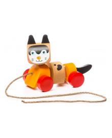Игрушка Cubika Котик-каталка