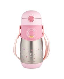 Термобидончик Canpol babies с трубочкой розовый 300 мл