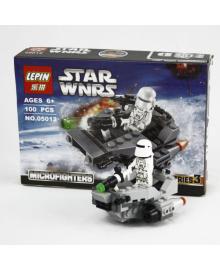 Конструктор Supretto Lepin Star Wars Снежный спидер, аналог Lego 100 предметов (4853)