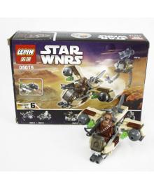 Конструктор Supretto Lepin Star Wars Боевой корабль Вуки, аналог Lego 93 предмета (4855)