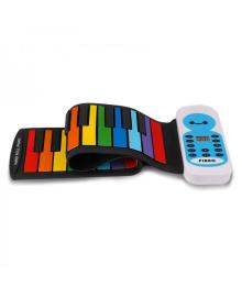 Гибкое пианино для детей BabySmile Music Rainbow MR37