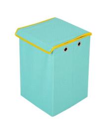 Ящик для игрушек Українська оселя Мятный в горошек