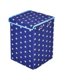 Ящик для игрушек Українська оселя Звезды на синем