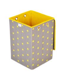Ящик для игрушек Українська оселя Звезды на сером