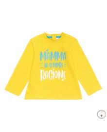Джемпер BluKids Bio Cotton Ragione Mamma 5694773, 8055203650080