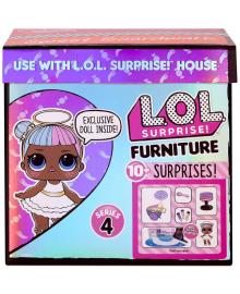 Игровой Набор L.O.L. Surprise! С Куклой Серии Furniture - Леди-Сахар с коляской (572626)