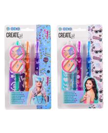 Набор ароматных ручек для тату Create it Gelpens (в ассорт) 84210, 8712916092698