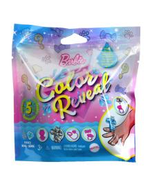 Игровой набор-сюрприз Barbie Mattel Color Reveal Любимец серия Блестящие (в ассорт)